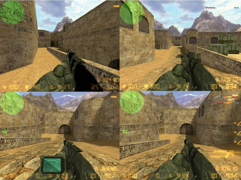CS Modern Warfare2 like the AK47 кс 1.6 ELITE css