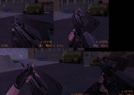 Dark Hunter FAMAS кс ELITE