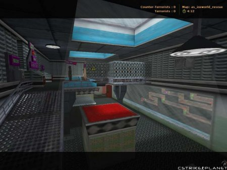 as_iceworld_rescue Counter-Strike 1.6