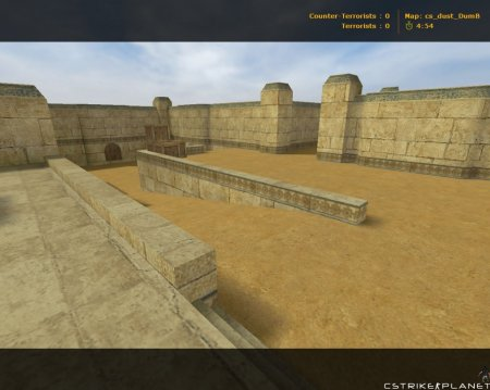 cs_dust_DumB Counter-Strike 1.6