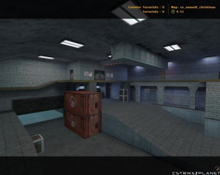 cs_assault_christmas Counter-Strike 1.6