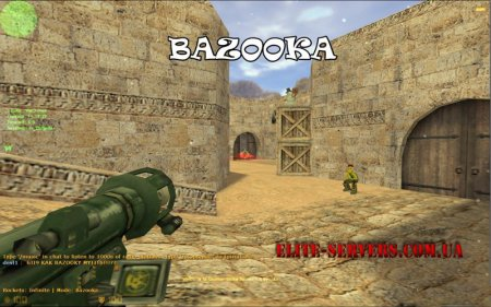 Bazooka cs Elite - Плагин даёт вам ракетницу, базука для cs