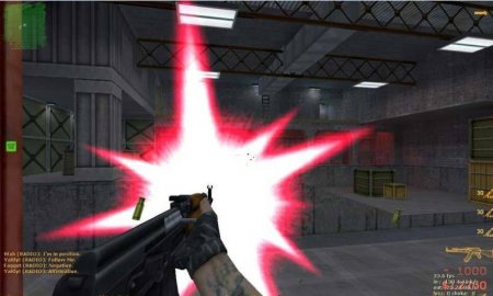 Muzzleflashes RED CS 1.6